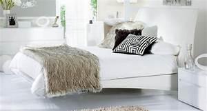 Weisse Betten Holz : schwebendes bett moderne vorschl ge ~ Markanthonyermac.com Haus und Dekorationen