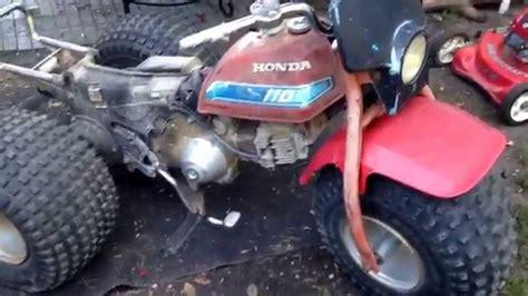 vintage honda 110 atc three wheeler find