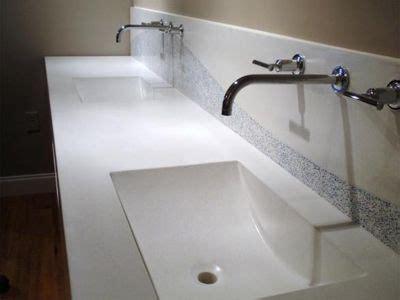 Stainless Steel Sink Countertop Integrated - integral sinks wall mount faucet bathroom sink