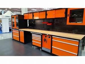 Amenagement Garage Atelier : mobilier tout en m tal gamme pro de trm garage ~ Melissatoandfro.com Idées de Décoration