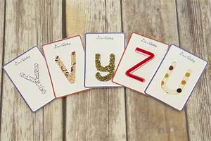 make your own tactile letter cards free downloadable With tactile letter cards
