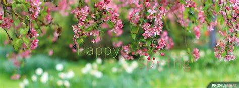 Free Spring Facebook Covers For Timeline, Pretty Spring