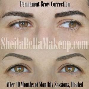 Permanent Brow Corrections : Sheila Bella Permanent Makeup ...