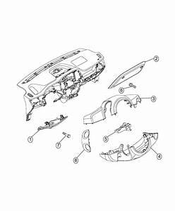 2016 Ram Promaster City Wagon Shroud  Steering Column