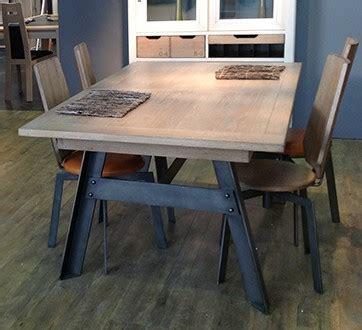 pieds meubles cuisine table pied fer forgé berangere vazard