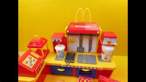 2001 Mcdonald's Fast Food Center Electronic Playset Video