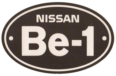 nissan be 1 automaker lightning bolt logo