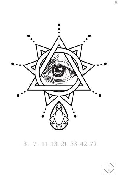 All seeing eye | All seeing eye tattoo, Illuminati tattoo, Tattoos