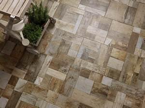 Terrasse En Mosaique : terrasse carrelages et dallages pour l 39 ext rieur c t ~ Zukunftsfamilie.com Idées de Décoration