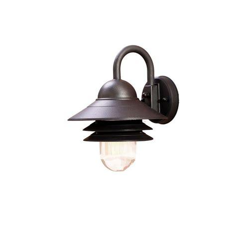 acclaim lighting mariner collection 1 light matte black