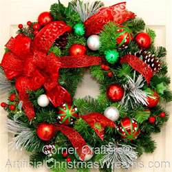 collection artificial decorated christmas wreaths photos christmas decorations baubles