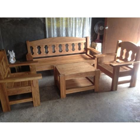 sala set design small house home living furniture tables narra sala set with center table 005 online internet