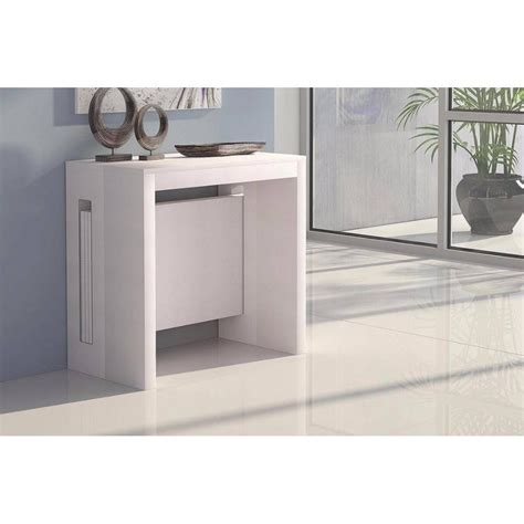 table console extensible conforama consoles extensibles tables et chaises console extensible grandezza blanche inside75