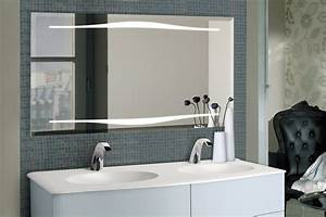 Miroir Meuble Salle De Bain : bien choisir son miroir de salle de bains ~ Teatrodelosmanantiales.com Idées de Décoration