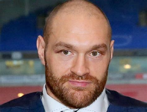 Tyson Fury Height
