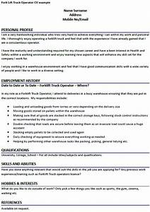 how to put forklift certification on resume dtk templates With forklift resume sample