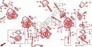 Carburetor  Component Parts  For Honda Cbr 600 F3 1997