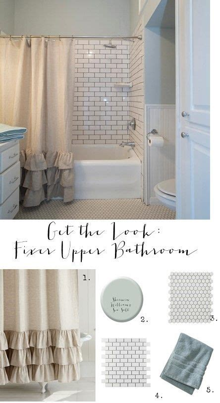 fixer upper get the look and shower curtains on pinterest