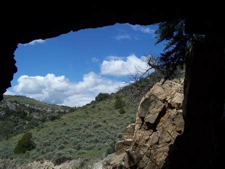 From Inside the Cave - Mountains & Nature Background ...