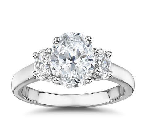 The Gallery Collection Ovalcut Threestone Diamond