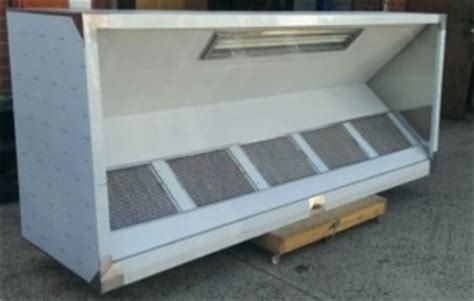 3m commercial exhaust canopy with motor and free light