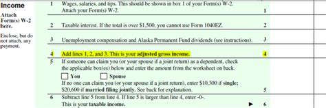 Adjusted Gross Income On 1040