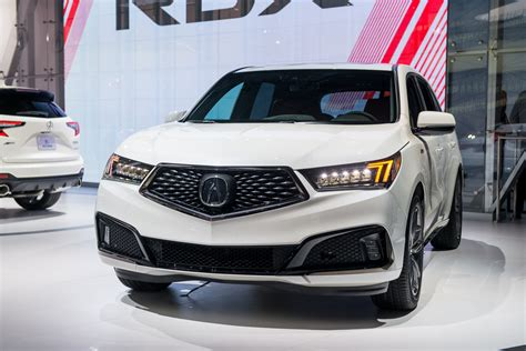 2019 Acura Mdx Aspec Debuts At 2018 New York Auto Show