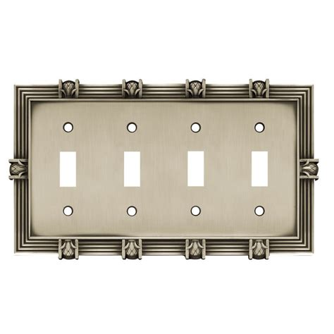 liberty kitchen cabinet hardware liberty hardware shop 64463 switchplates brushed 6953