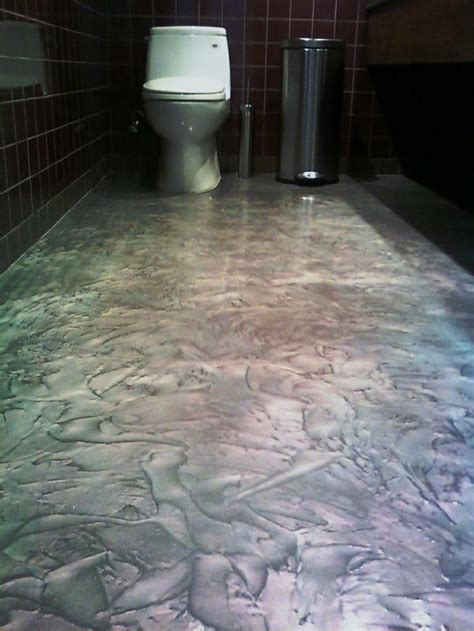 Pearl Epoxy Floor   Chameleon 3D Effect Epoxy Floor