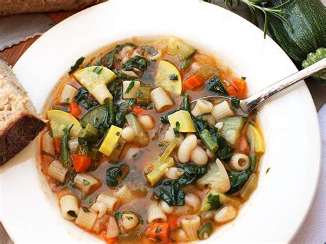 recipe minestrone soup the best minestrone soup recipe serious eats