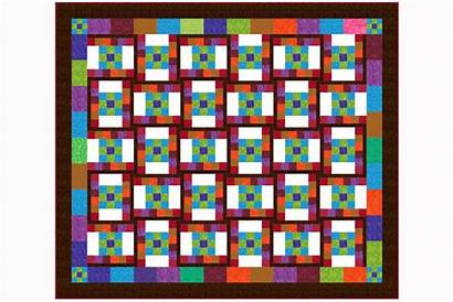 Quilt Patterns Pattern Easy Patch Nine Dancing