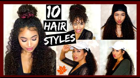 10 Fall/winter Curly Hairstyles With Satin Accessories