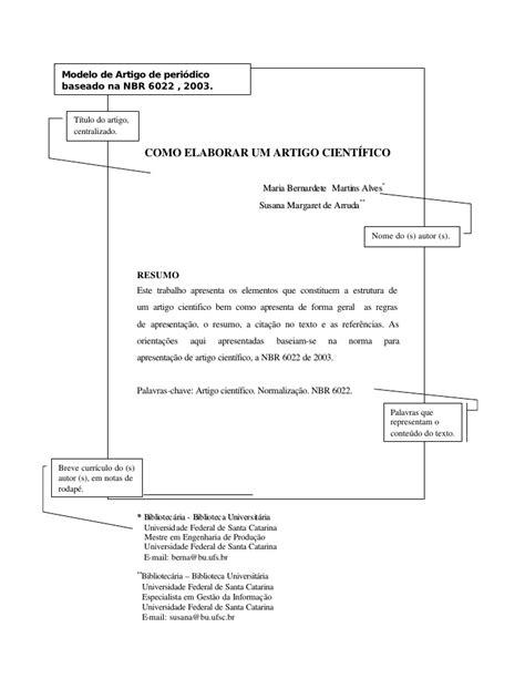 modelo de artigo em word nas normas da abnt 2016 como normas de artigo abnt