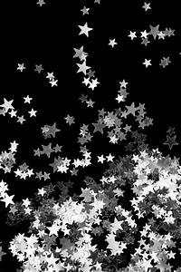 Black And Silver Sparkle Background