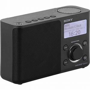 Sony Xdrs61db Cek Portable Digital Radio With High Quality