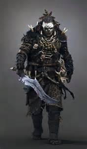 Orc Warrior Concept Art