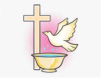 Baptism Clipart Symbol Catholic Clip Sacraments Symbols