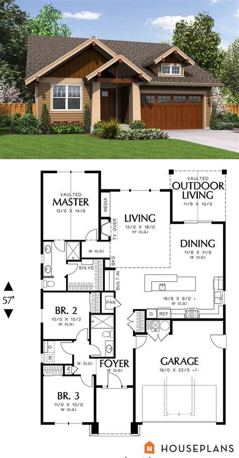 house plans 1500 square 1500 sft cozy craftsman cottage plan houseplans plan 48