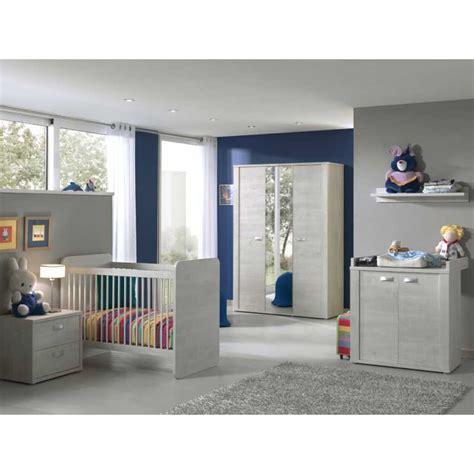 chambre bébé complete carrefour chambre bébé complète avec lit évolutif coloris chêne blanc