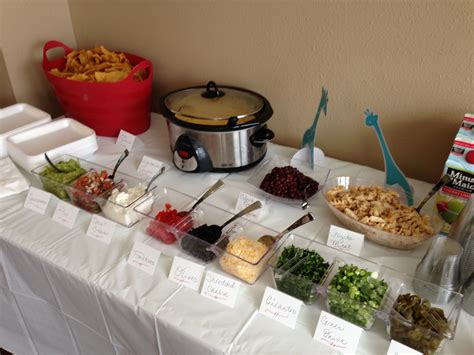 buffet bar cuisine nacho bar how about a quot your own nachos quot bar at your