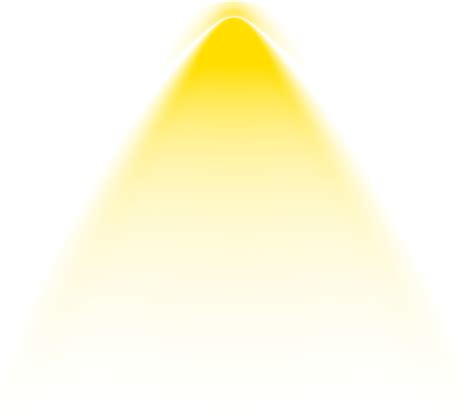 hd graphic library library effect effects png yellow and light effect cone png free