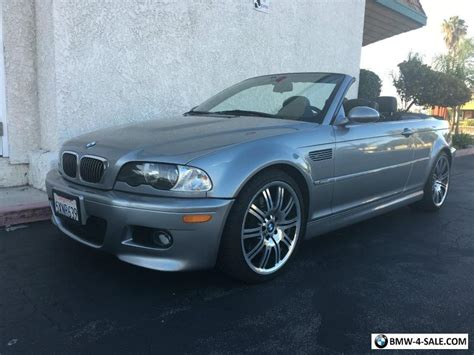 2006 Bmw M3 Convertible For Sale In United States