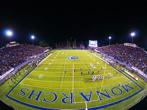Odu Football At Foreman Field Photograph by Old Dominion ...