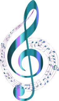Music Notes Clip Art with Transparent Background