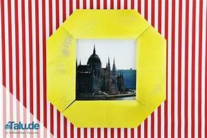 Bilderrahmen Aus Pappe : bilderrahmen aus pappe papier selber bauen bastelanleitung ~ Watch28wear.com Haus und Dekorationen
