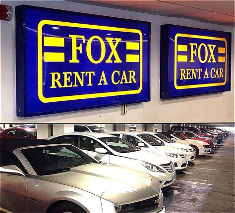Fox Rentacar Customer Service Complaints Department