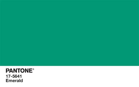 what color is emerald define this what is pantone color the interior collective