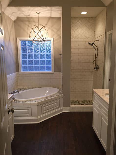 Bathroom Tub by My Master Bath Shower Door Not Yet Installed Tub