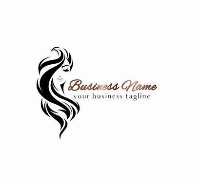Hair Salon Wigs Logos Hairdresser Makeup Beauty