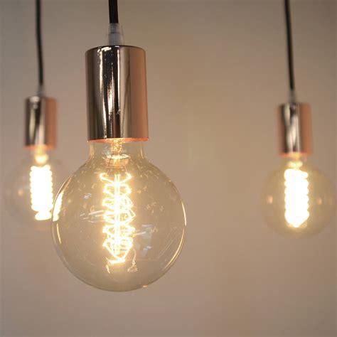 Copper Spider Pendant Light By Mr J Designs
